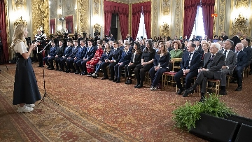 3 - Mattarella consegna gli Attestati d'Onore ai nuovi Alfieri della Repubblica, le immagini