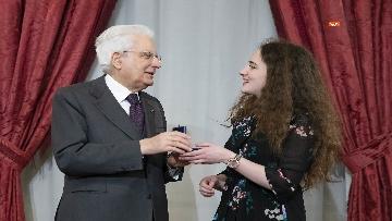 10 - Mattarella consegna gli Attestati d'Onore ai nuovi Alfieri della Repubblica, le immagini