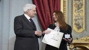 13 - Mattarella consegna gli Attestati d'Onore ai nuovi Alfieri della Repubblica, le immagini