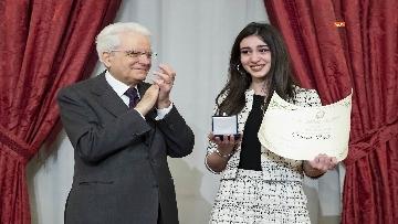 11 - Mattarella consegna gli Attestati d'Onore ai nuovi Alfieri della Repubblica, le immagini