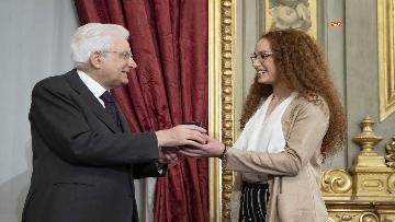 15 - Mattarella consegna gli Attestati d'Onore ai nuovi Alfieri della Repubblica, le immagini