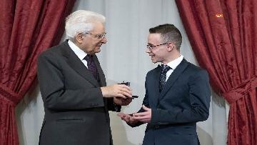 12 - Mattarella consegna gli Attestati d'Onore ai nuovi Alfieri della Repubblica, le immagini