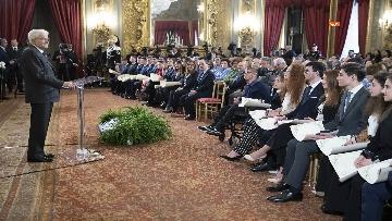 28 - Mattarella consegna gli Attestati d'Onore ai nuovi Alfieri della Repubblica, le immagini