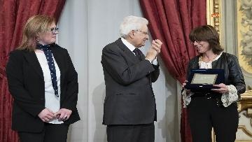 25 - Mattarella consegna gli Attestati d'Onore ai nuovi Alfieri della Repubblica, le immagini