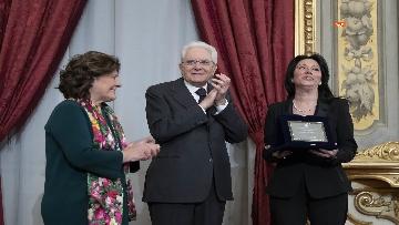 26 - Mattarella consegna gli Attestati d'Onore ai nuovi Alfieri della Repubblica, le immagini