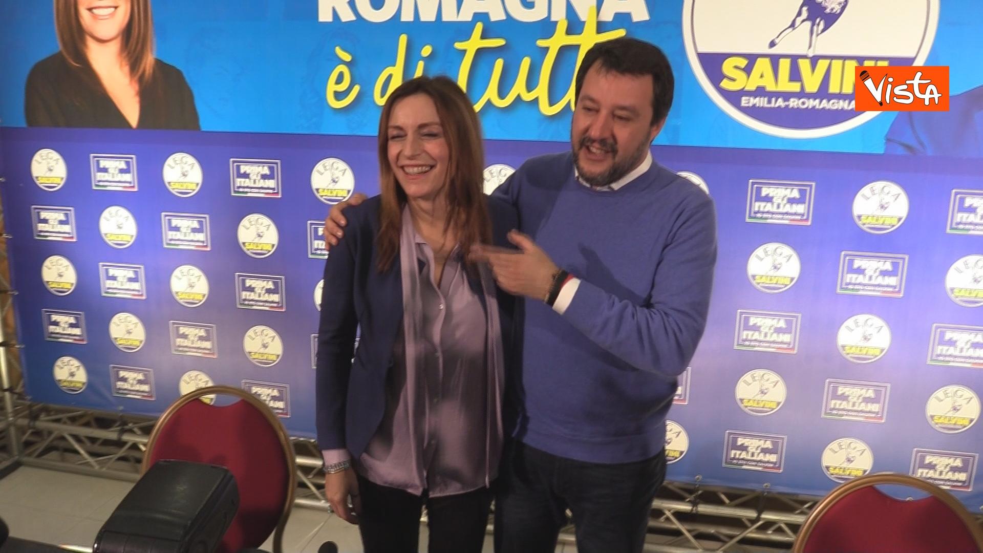 27-01-20 Salvini e Borgonzoni in conferenza stampa sul risultato del voto in Emilia-Romagna, le immagini_09