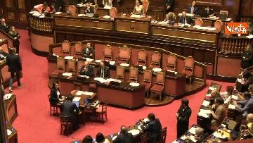 3 - Di Maio in aula al Senato riferisce sul problema sicurezza sul lavoro