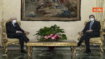 2 - Consultazioni, il presidente della Camera Roberto Fico arriva al Quirinale. Le immagini