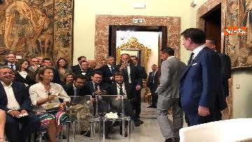 2 - Il presidente del Consiglio, Giuseppe Conte, incontra la stampa nazionale prima della pausa estiva