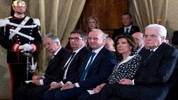 2 - Il Presidente Mattarella all'Accademia dei Lincei