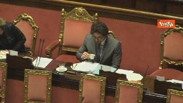 2 - Mozione sfiducia per Toninelli al Senato, le immagini dell'Aula
