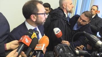 """7 - Bonafede partecipa alla conferenza """"Dove e' finita la corruzione?"""" all'Anac"""