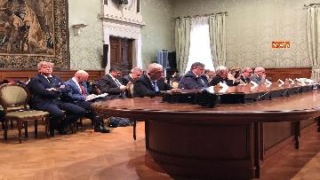 11 - Il Governo incontra i sindacati a Palazzo Chigi