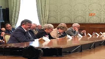 12 - Il Governo incontra i sindacati a Palazzo Chigi