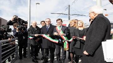 4 - Mattarella inaugura la tramvia D2 a Firenze