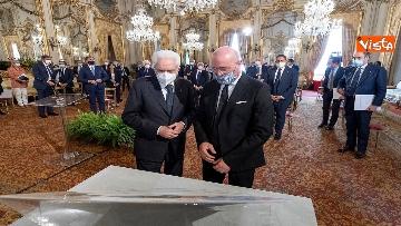 7 - Mattarella incontra al Quirinale i Presidenti di Regione