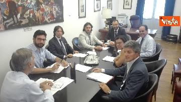 1 - Incontro tra le delegazioni Pd e M5s