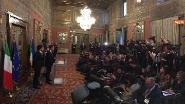 9 - Di Maio, Giulia Grillo e Toninelli al termine delle Consultazioni al Senato