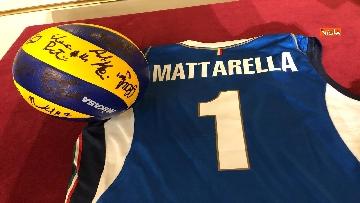2 - Mattarella riceve al Quirinale la Nazionale di pallavolo femminile