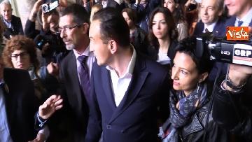 4 - L'arrivo al Palazzo della Regione di Alberto Cirio