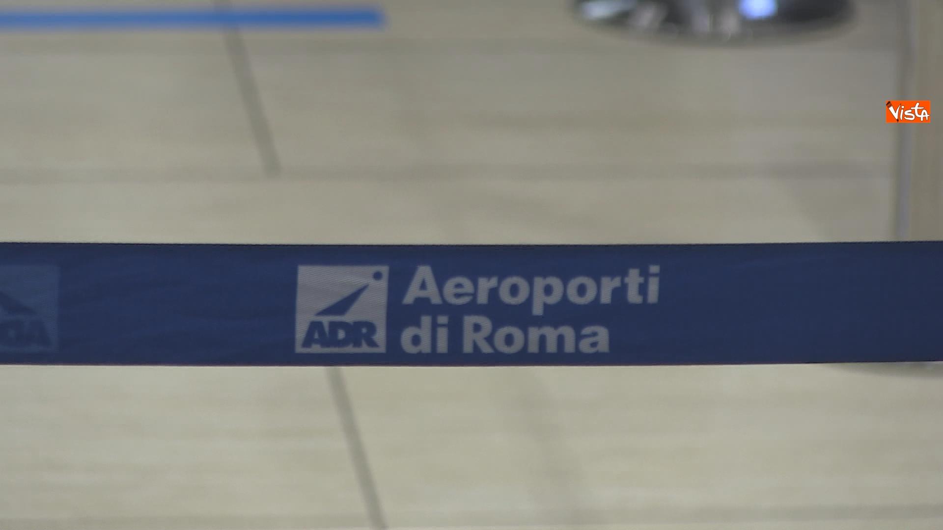 Transenne dell'aeroporto di Roma Fiumicino.