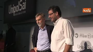 2 - Giorgetti e Delrio al meeting di Rimini