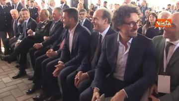 6 - Hub Milano Rogoredo, Fs presenta potenziamento con Battisti, Toninelli, Salvini
