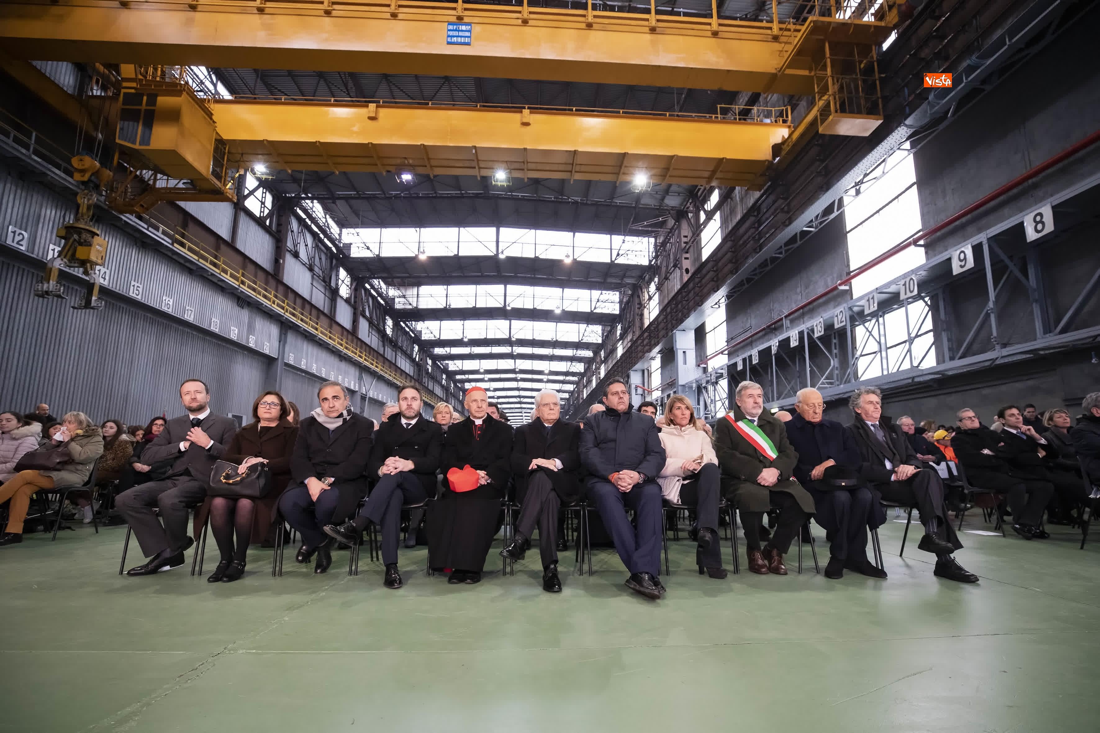 23-01-19 Mattarella a Cornigliano partecipa a commemorazione 40 anni da omicidio Guido Rossa_02