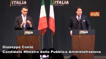 2 - Di Maio presenta la possibile squadra del Governo M5s, lo speciale