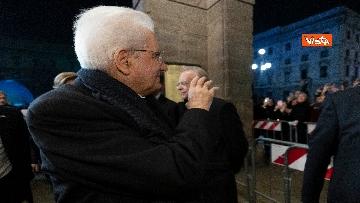 7 - Mattarella alla Prima della Scala di Milano