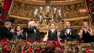 2 - Mattarella alla Prima della Scala di Milano