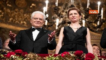 17 - Mattarella alla Prima della Scala di Milano