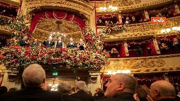18 - Mattarella alla Prima della Scala di Milano