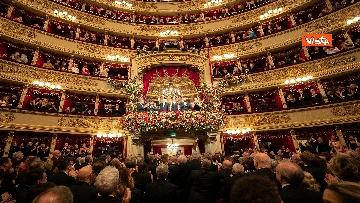 20 - Mattarella alla Prima della Scala di Milano