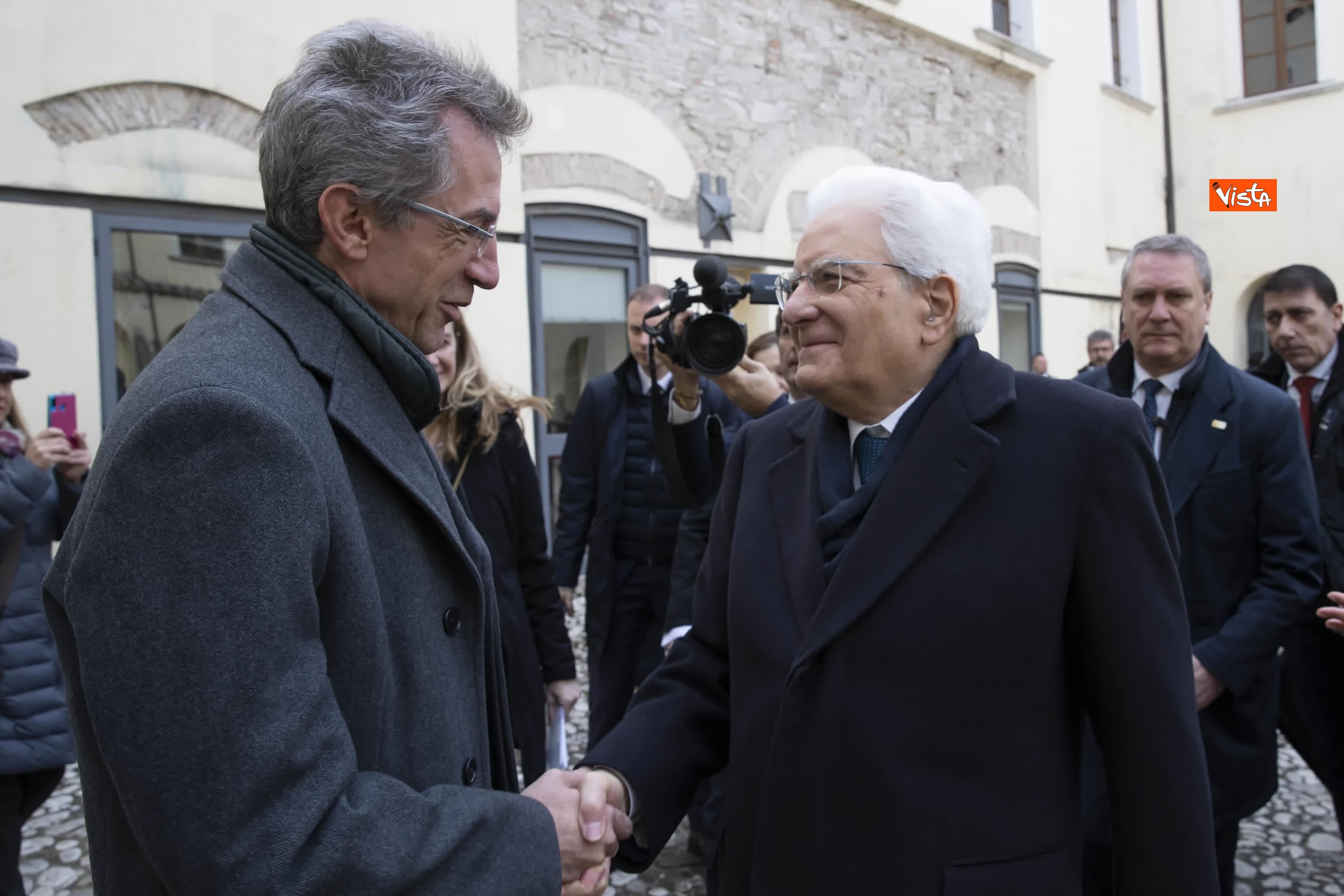 28-01-20 Mattarella all inaugurazione dell Anno Accademico 2019-2020 dell Universita del Sannio