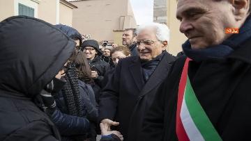5 - Mattarella a Benevento visita il Museo del Sannio e la Chiesa di Santa Sofia
