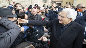 7 - Mattarella a Benevento visita il Museo del Sannio e la Chiesa di Santa Sofia