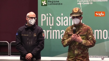 """7 - Figliuolo in Lombardia: """"Ho visto una sinergia tra le forze migliori del Paese"""""""