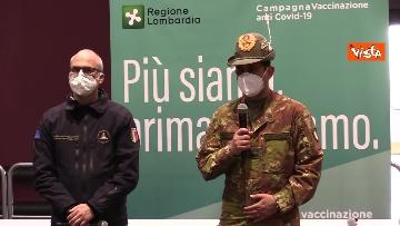 """2 - Figliuolo in Lombardia: """"Ho visto una sinergia tra le forze migliori del Paese"""""""