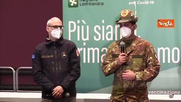 """3 - Figliuolo in Lombardia: """"Ho visto una sinergia tra le forze migliori del Paese"""""""