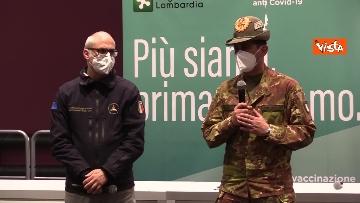 """6 - Figliuolo in Lombardia: """"Ho visto una sinergia tra le forze migliori del Paese"""""""