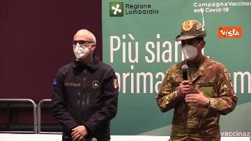 """4 - Figliuolo in Lombardia: """"Ho visto una sinergia tra le forze migliori del Paese"""""""