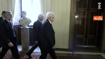 9 - Fico e Mattarella, l'incontro al Quirinale dopo la consultazioni con M5S e Pd
