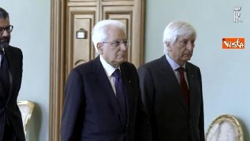 3 - Fico e Mattarella, l'incontro al Quirinale dopo la consultazioni con M5S e Pd