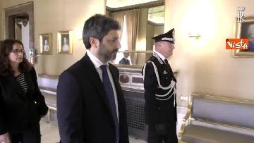 7 - Fico e Mattarella, l'incontro al Quirinale dopo la consultazioni con M5S e Pd