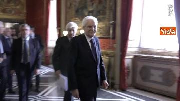 8 - Fico e Mattarella, l'incontro al Quirinale dopo la consultazioni con M5S e Pd