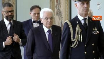 2 - Fico e Mattarella, l'incontro al Quirinale dopo la consultazioni con M5S e Pd