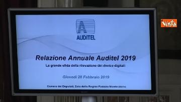 6 - Auditel, presentata la relazione annuale alla Camera dei deputati. Lo speciale