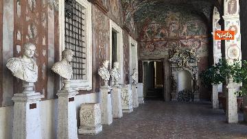 13 - Museo per tutti, la presentazione del progetto con Bonisoli a Palazzo Altemps