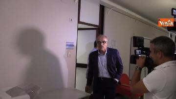 5 - Il capo Procuratore Francesco Cozzi esce dal suo ufficio in Procura
